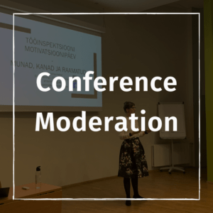 Conference moderation