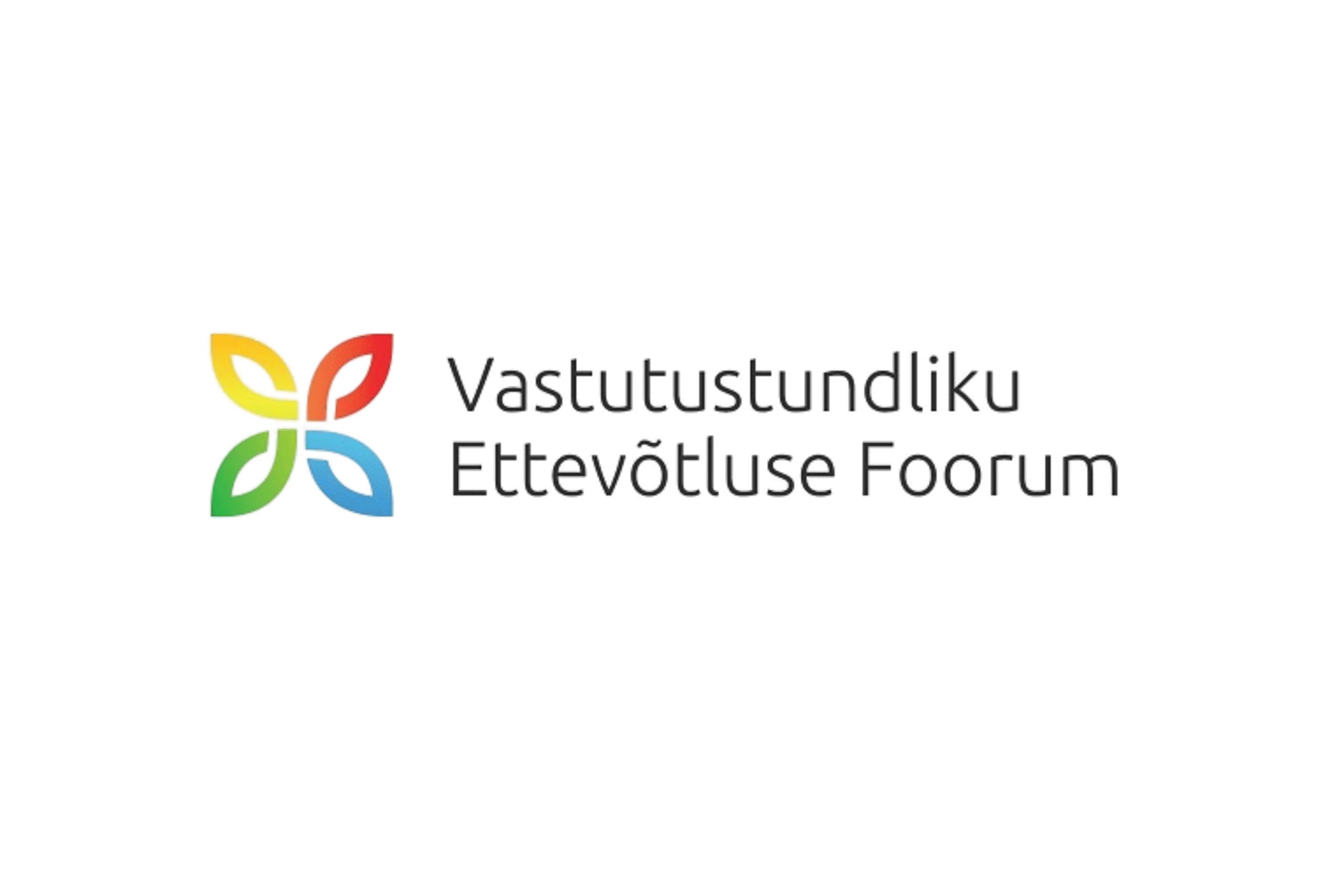 Logo: Vastutustundliku Ettevõtluse Foorum