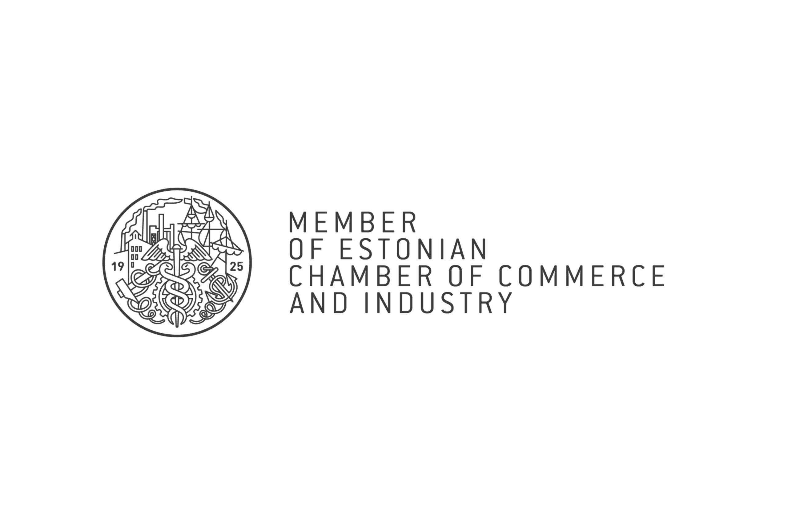 Logo: Member of Estonian chamber of commerce and industry