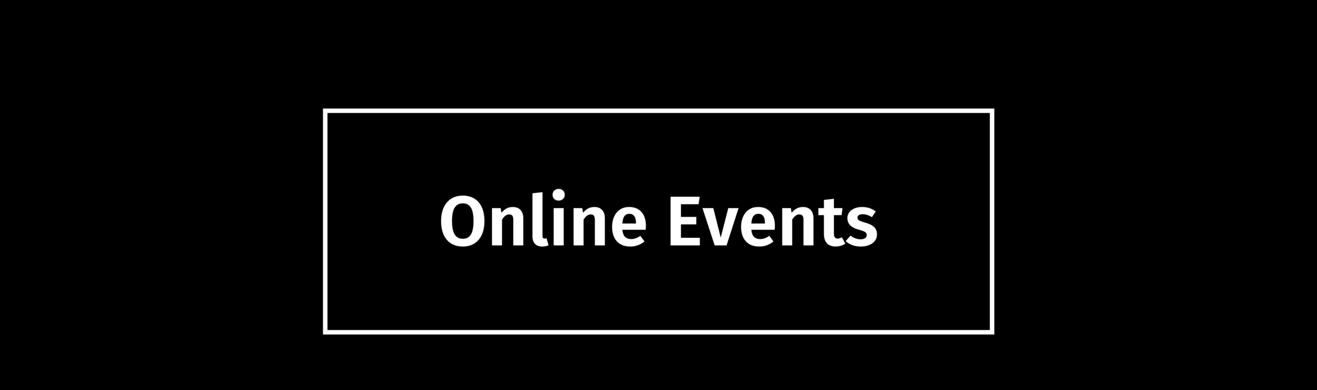 Page title: Online events