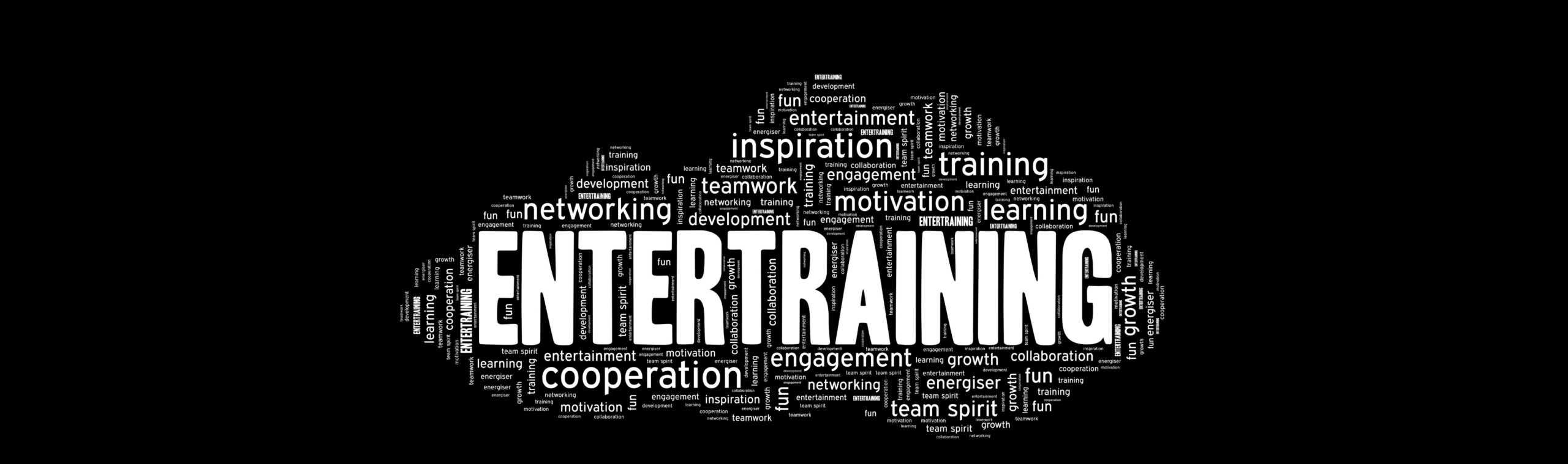 Page title: Entertraining Word Cloud