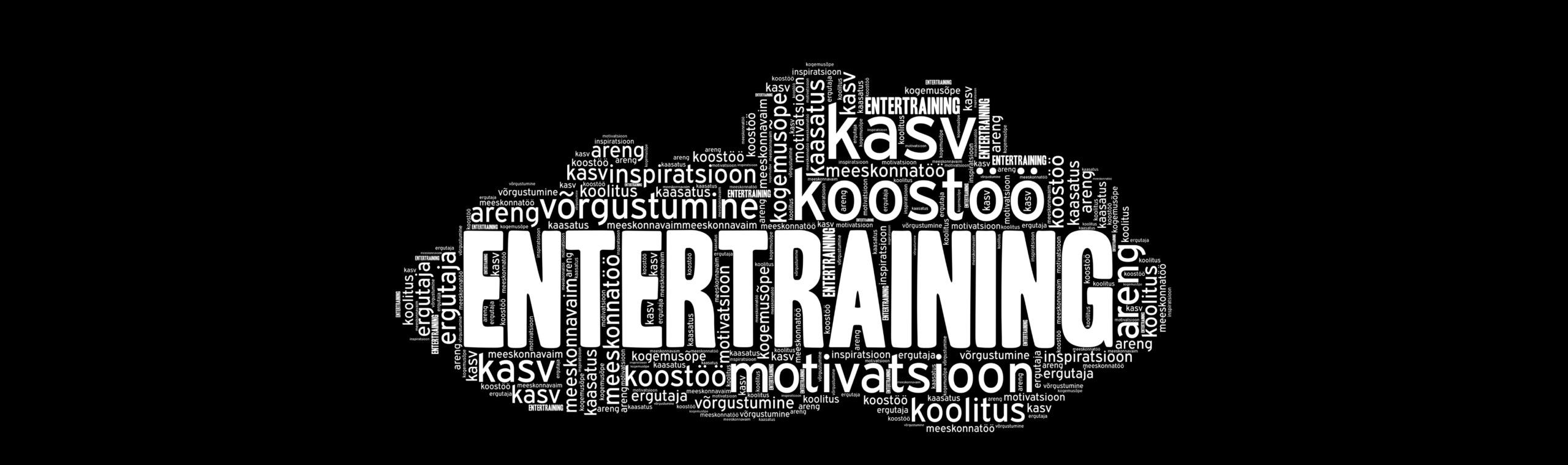 EnterTraining sõnapilv
